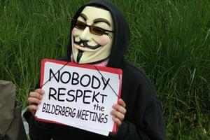 Bilderberg: A V For Vendetta mask