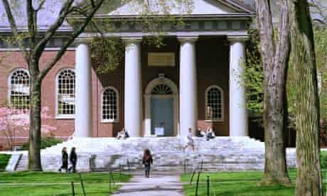 Harvard UK US universities