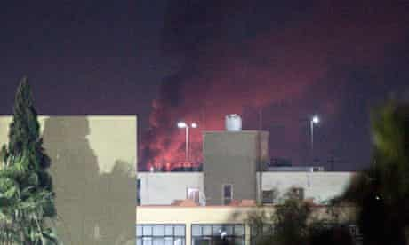 Tripoli air strikes