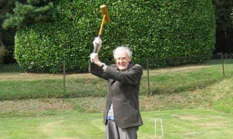 Fathers Day Croquet