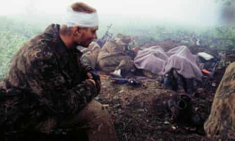Eric Bouvet, Chechnya