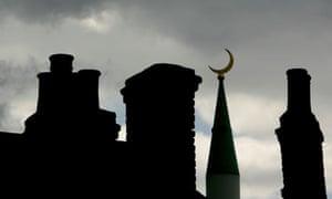 Mosque crescent