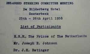 Bilderberg steering group