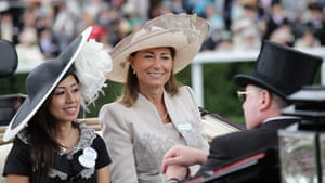 Ascot Ladies Day: Carole Middleton arrives