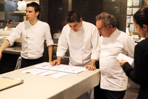 El Bulli: Adria and his team