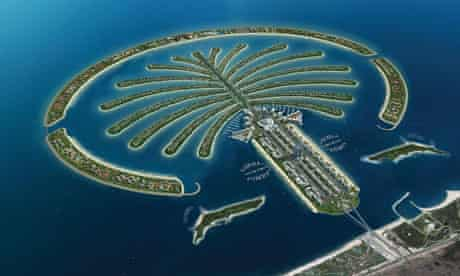 The Palm Jumeirah, Dubai, where $160m of Kabul Bank money was invested in luxury villas.