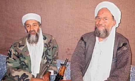 Ayman al-Zawahiri, with Osama bin Laden in 2001