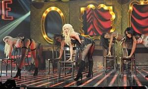 Christina Aguilera on The X-Factor