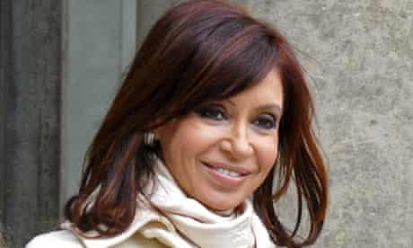 Cristina Kirchner said David Cameron was running a 'crude colonial power in decline'