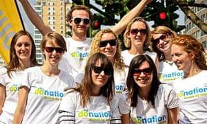 donation team shot