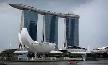 Singapore's Marina Bay Sands resort
