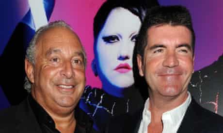 Philip Green and Simon Cowell