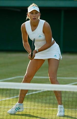 Ladies of Wimbledon: Anna Kournikova in 2002