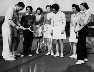 Ladies of Wimbledon: Dan Maskall Coaches Women Players at Wimbledon