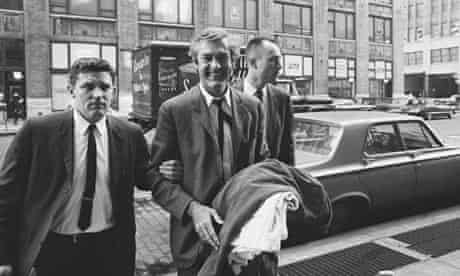 Timothy Leary Being Led Into Us Customs