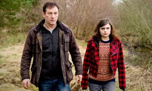 Isaacs as Jackson Brodie with Gwyneth Keyworth in Case Histories.