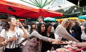 Cake Stall - Borough Market - Southwark - London