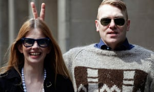Icelandic actor, comedian and mayor of Reykjavik, Jon Gnarr poses in New York
