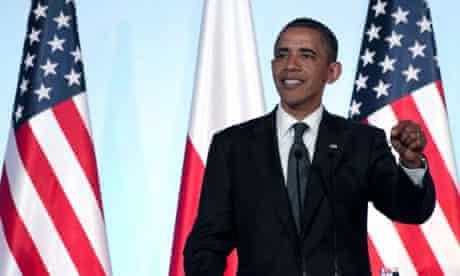 President Barack Obama in Warsaw