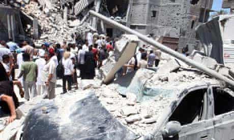 Libya: Air strikes in Tripoli