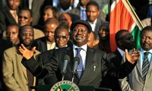 Kenya's Prime Minister, Raila Odinga