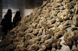 Venice Biennale: An installation by Italian artist Ettore Greco