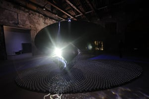 Venice Biennale: 'The Black Arch' by sisters Shadia and Raja Alem