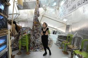 Venice Biennale: 'Crystal of Resistance' artist Thomas Hirschhhorn in the Swiss Pavillion