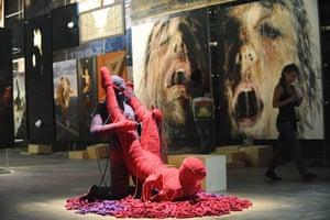 Venice Biennale: Coltro and Arrivabene's artworks at Italian Pavillion