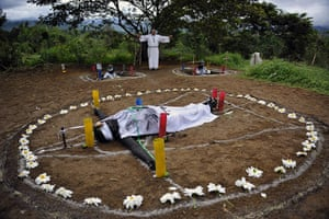 From the agencies : Luis Robayo photographs Exorcism in Colombia
