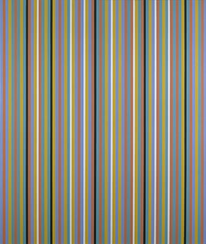 Government Art Collection: Bridget Riley, 'Reflection' 1982, Oil on canvas