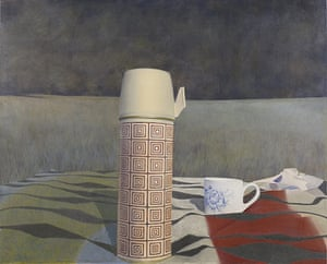 Government Art Collection: David Tindle 'Tea' 1970-1971 Acrylic on canvas