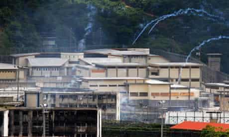 El Robeo I prison on Venezuela