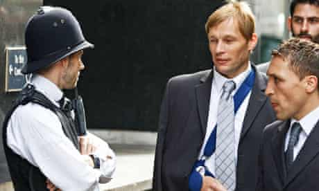 Police officer Simon Harwood