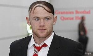 Rooney hair gallery: Wayne Rooney gallery 3