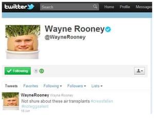 Rooney hair gallery: Wayne Rooney gallery 7