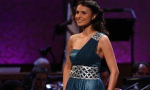 Valentina Nafornita, winner of the BBC Cardiff Singer of the World 2011.