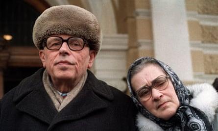 Andrei Sakharov and Yelena Bonner
