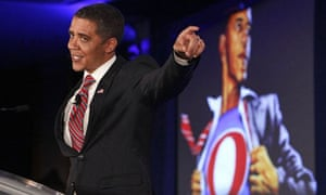 Obama impersonator Reggie Brown