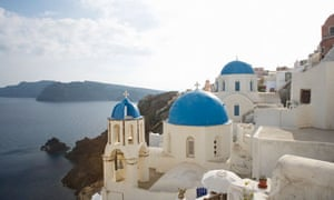 Santorini church, Oia, Santorini, Cyclades, Greece