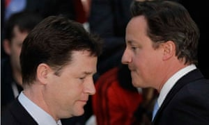 Nick Clegg and David Cameron crossover