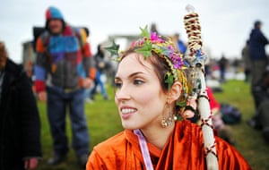 Summer solstice: Druid Tia Daisy, 25, from Seattle