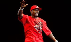US rap star 50 Cent performs in Mumbai