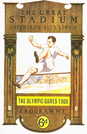 Century Olympic posters: 1908 London Olympic Games
