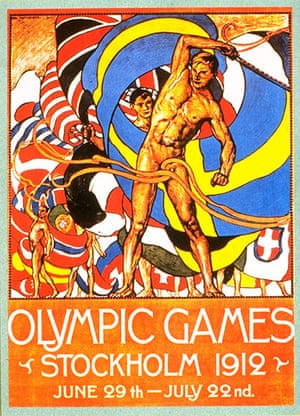 Century Olympic posters: 1912 Stockholm Olympic Games