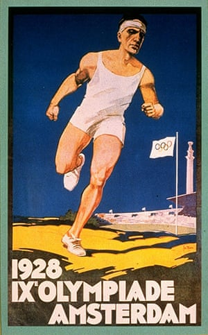 Century Olympic posters: 1928 Amsterdam Olympic Games