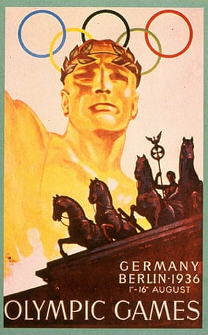 Century Olympic posters: 1936 Berlin Olympic Games