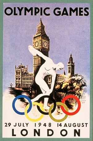Century Olympic posters: 1948 London Olympic Games