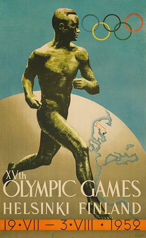 Century Olympic posters: 1952 Helskini  Olympic games