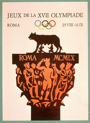 Century Olympic posters: 1960 Rome Olympic Games